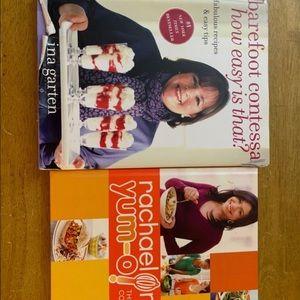 Other - Ina Garten & Rachel Ray Cookbooks